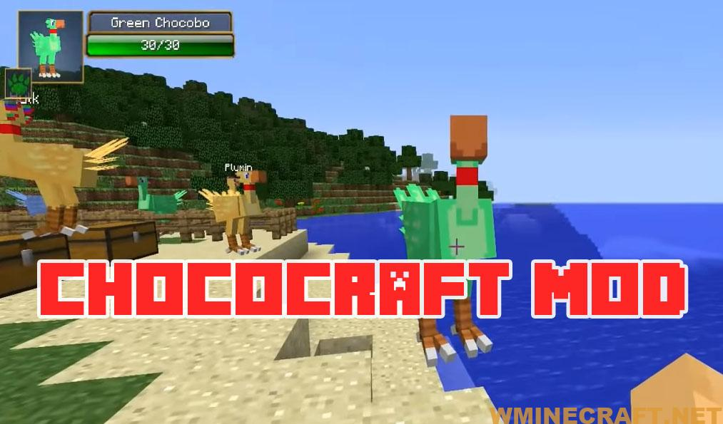 ChocoCraft Mod is exciting game.