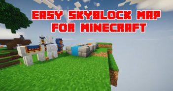 Easy SkyBlock Map