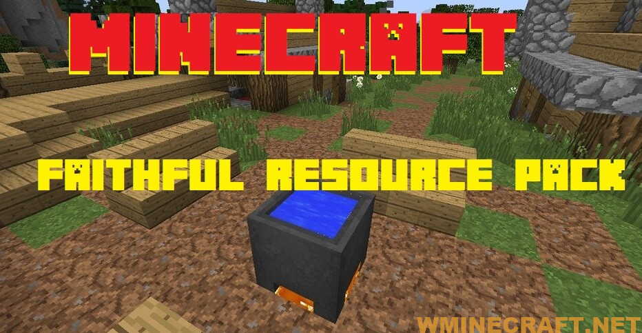 Faithful Resource Pack 1.12.2, a new multi-color version