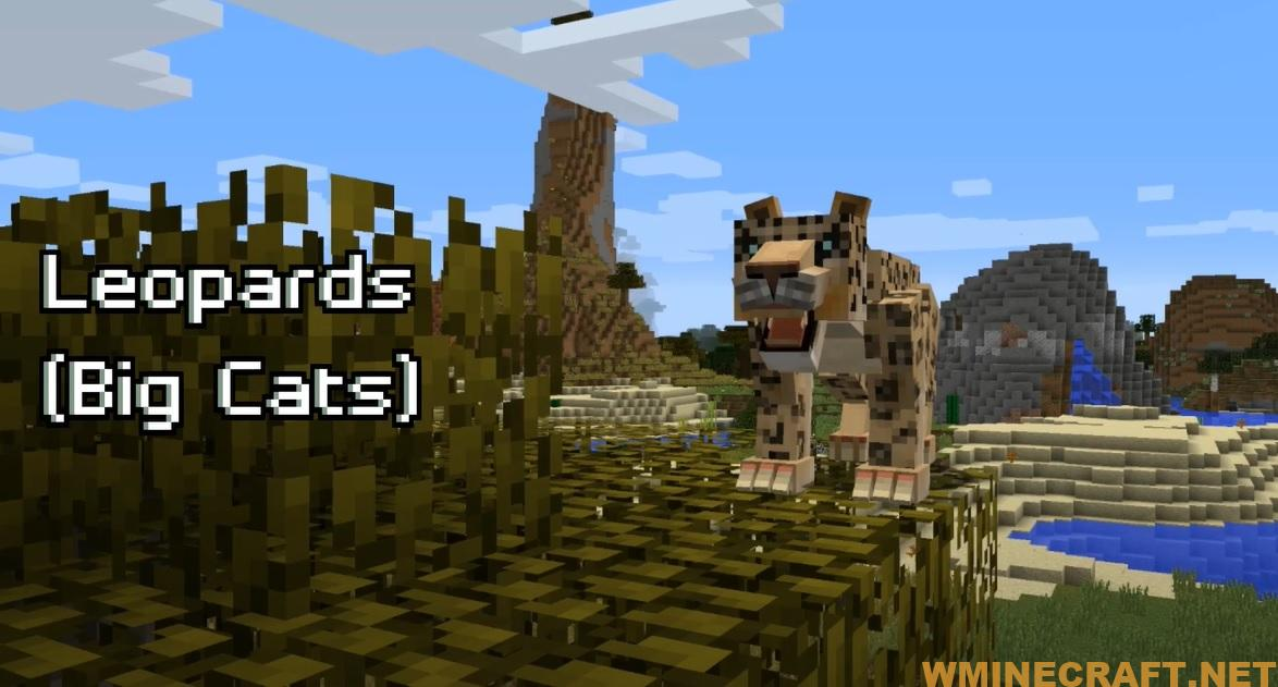 The Mo' Creatures mod adds over 58 new mobs to Minecraft