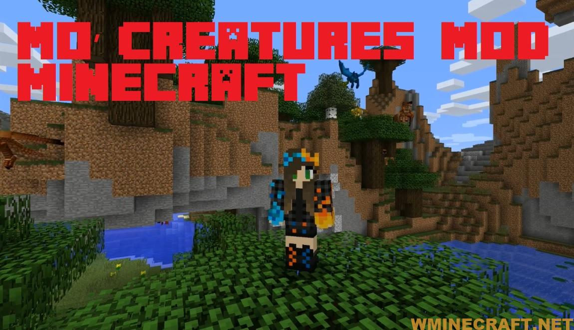 Download Mo'Creatures Mod - Mod monster and strange animals for Minecraft