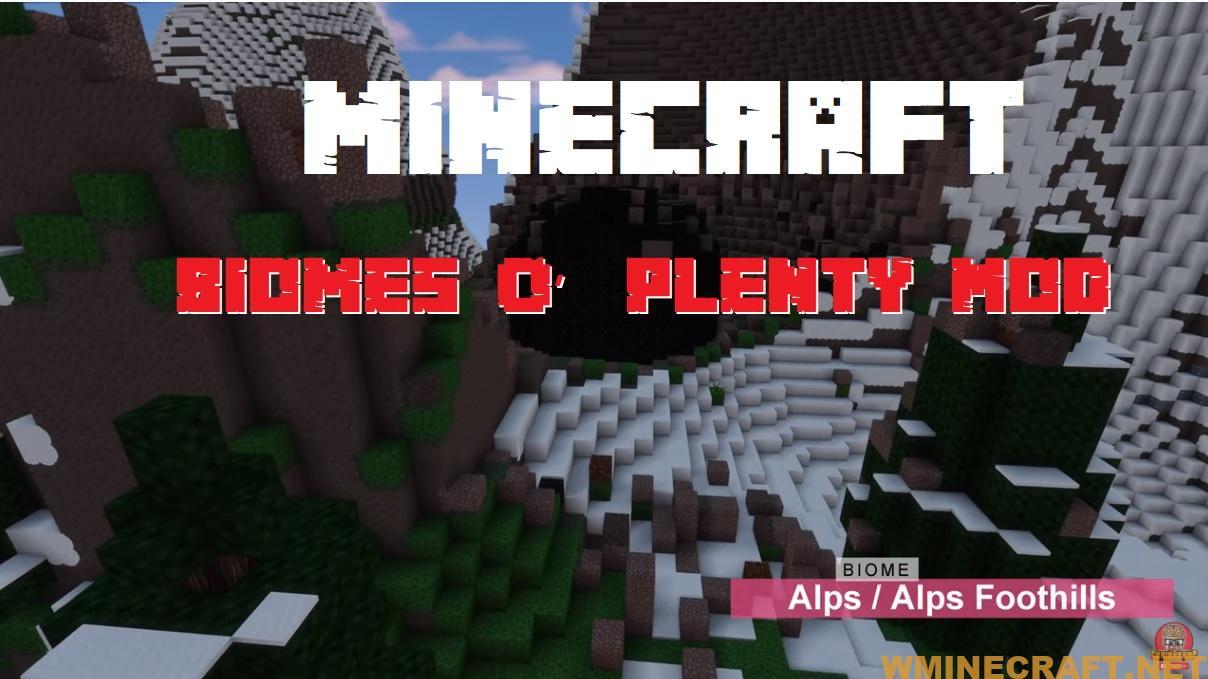 Minecraft Biomes O Plenty Mod 1 16 3 1 15 2 1 12 2 Wminecraft Net