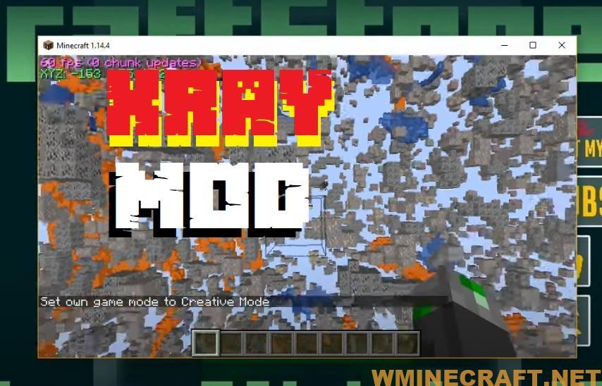 Minecraft Xray Mod 1.16.4