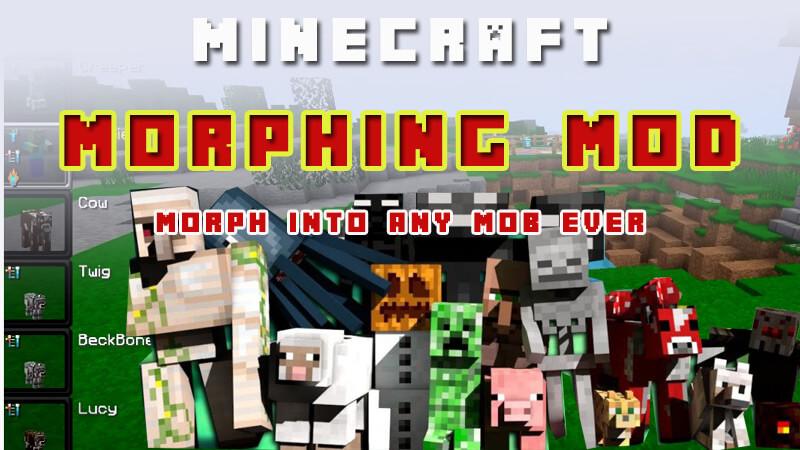 Minecraft Morph Mod 1 16 2/1 12 2/1 7 10 Mod Reviews