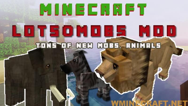 Lotsomobs Mod adds more creatures to Minecraft