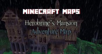 Herobrine's Mansion Adventure Map 00