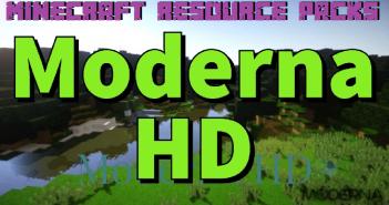 Moderna HD Resource Pack