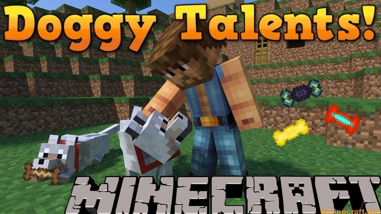Doggy Talents Mod 1.16.5