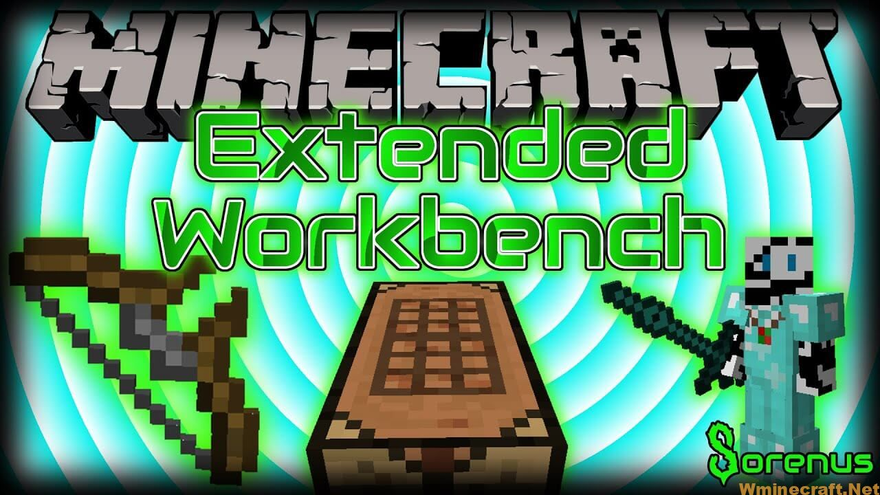 Let's try to play Extended Workbench Mod 1.12.2 in Minecraft