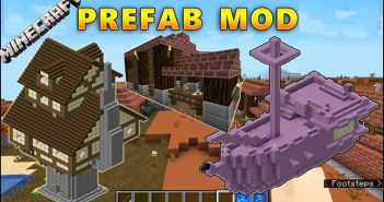 Prefab mod for Minecraft is a mod that can directly affect your world