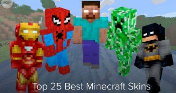 top 25 skin minecraft