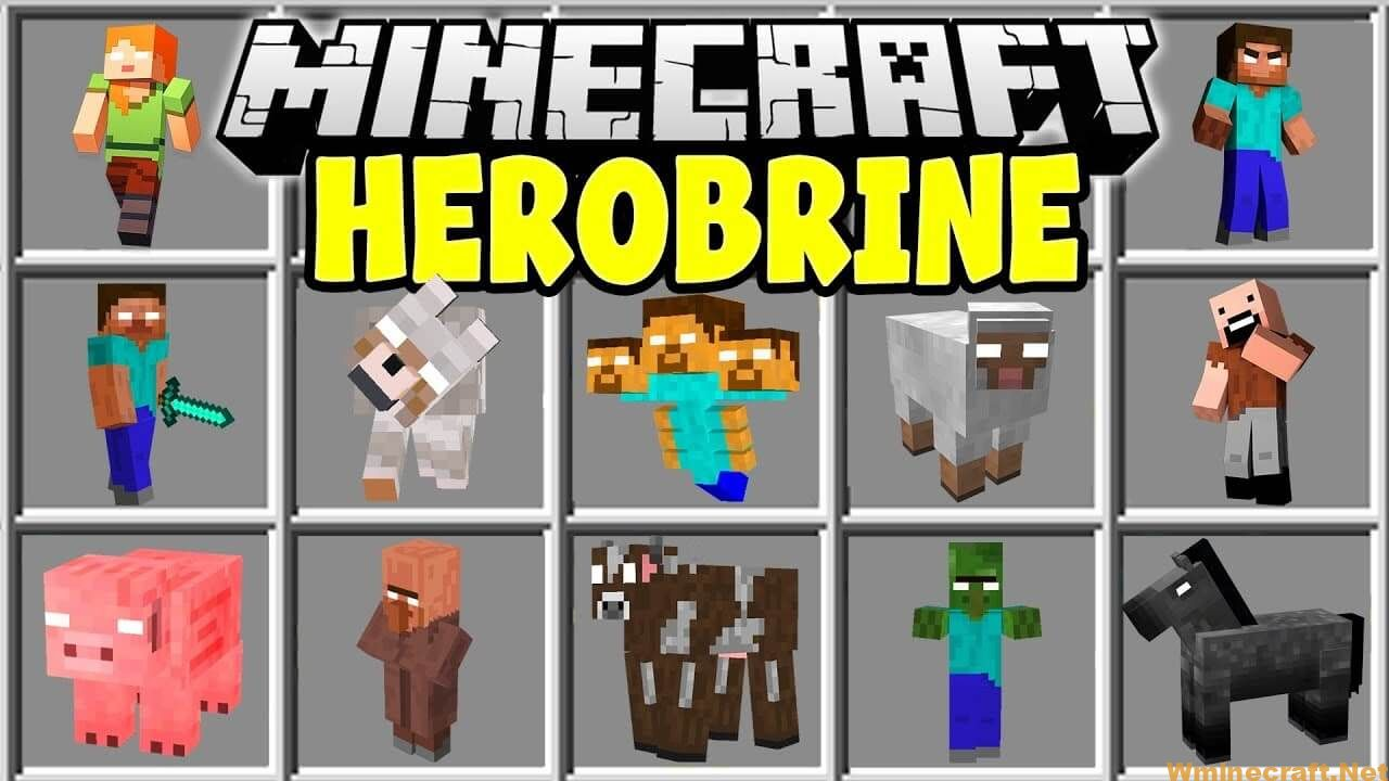 Herobrine Mod 1.7.10