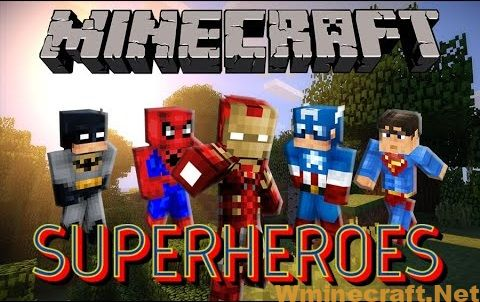 SuperHeroes Unlimited Mod 1.7.10 contains a wide range of different superheroes who can bring lots of epic powers to your game