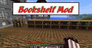 Bookshelf Minecraft Mod 1