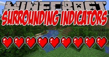 Surrounding Indicators mod for Minecraft logo