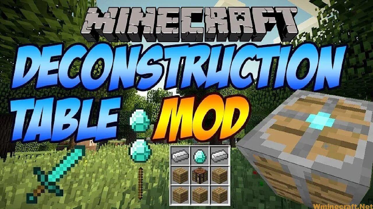 Deconstruction Table Mod