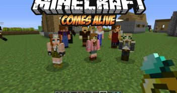 Minecraft Comes Alive Mod logo
