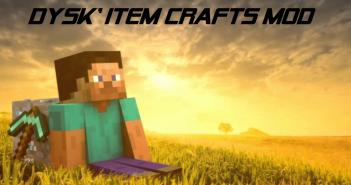 Dysk Item Crafts Mod