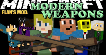 Flans Modern Weapons Pack Mod
