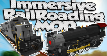 Immersive Railroading Mod 1
